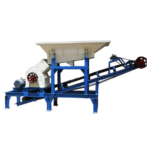 Diesel Engine Portarble Hammer Crusher